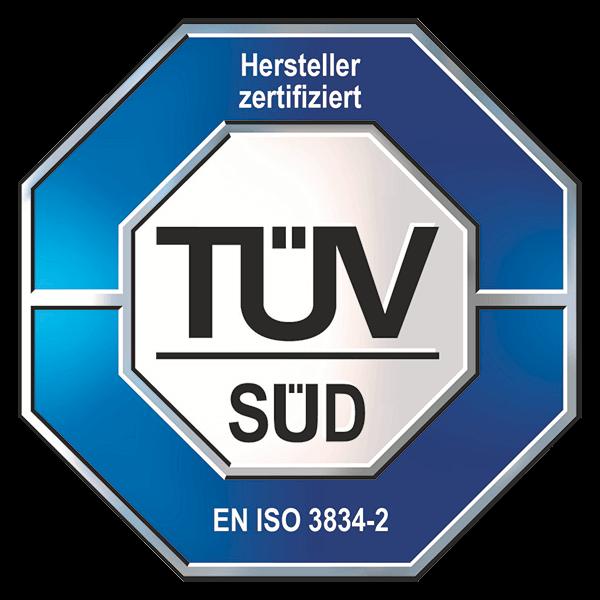 TÜV EN ISO 3834-2